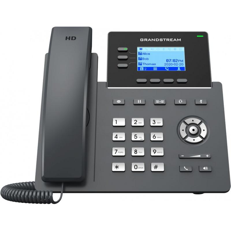 Телефон IP Grandstream GRP-2603P черный