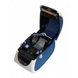Термопринтер Mertech MPRINT LP80 EVA (для печ.накл.) стационарный белый/синий