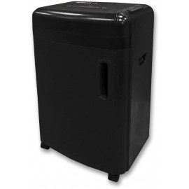 Шредер Office Kit S180 (0,8х1) черный (секр.P-7)/фрагменты/5лист./32лтр./пл.карты/CD