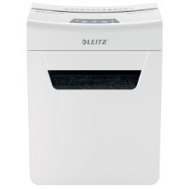 Шредер Leitz IQ PROTECT Premium 4M белый (секр.P-5)/фрагменты/4лист./14лтр./скрепки/скобы
