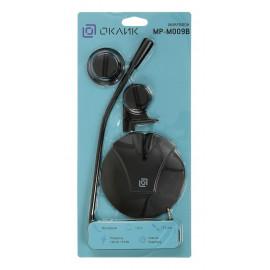 Микрофон проводной Оклик MP-M009B 1.8м черный