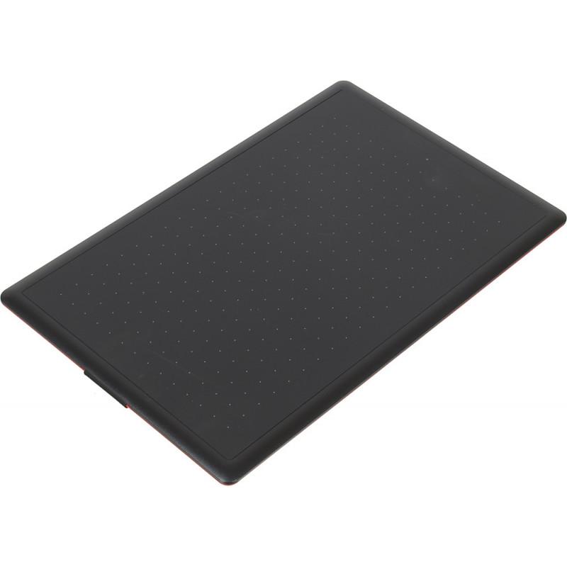 Графический планшет Wacom One by Medium CTL-672-N USB черный/красный