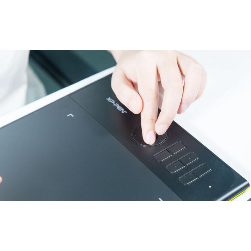Графический планшет XP-Pen Star 06C USB желтый/черный