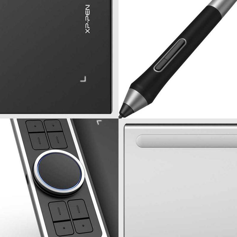 Графический планшет XP-Pen Deco Pro Small USB черный/серебристый
