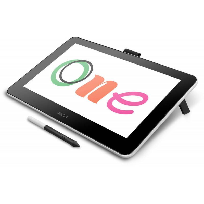 Графический планшет Wacom One DTC133W0B LED USB Type-C белый