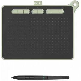 Графический планшет Parblo Ninos M USB Type-C черный/зеленый