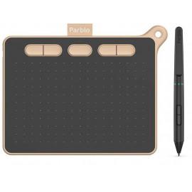Графический планшет Parblo Ninos S USB Type-C черный/розовый