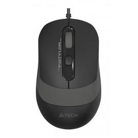 Мышь A4Tech Fstyler FM10 черный/серый оптическая (1600dpi) USB (4but)