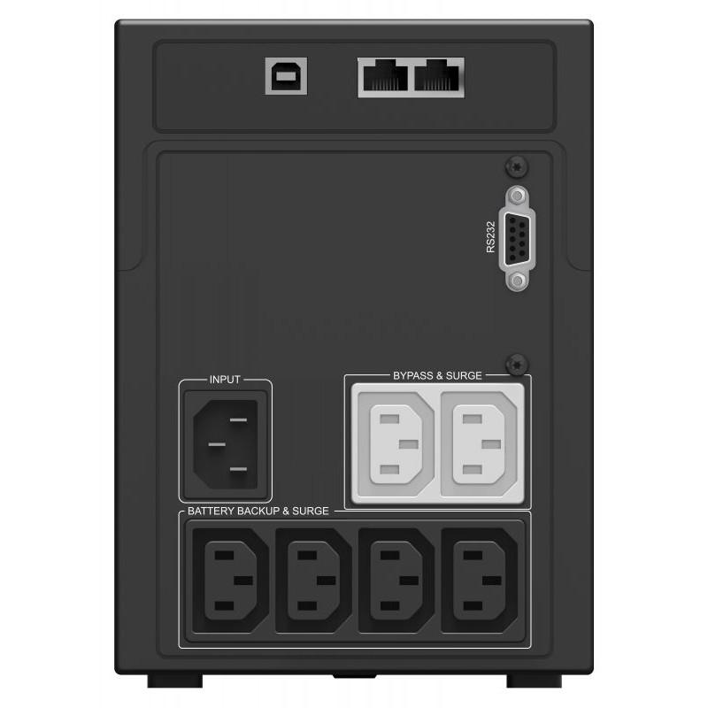 Источник бесперебойного питания Ippon Smart Power Pro II 1200 720Вт 1200ВА черный