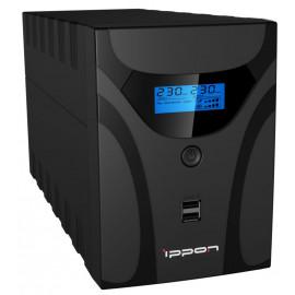 Источник бесперебойного питания Ippon Smart Power Pro II Euro 2200 1200Вт 2200ВА черный