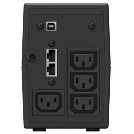 Источник бесперебойного питания Ippon Back Power Pro II 500 300Вт 500ВА черный