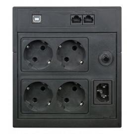 Источник бесперебойного питания Powercom Raptor RPT-1025AP LCD 615Вт 1025ВА черный