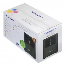Источник бесперебойного питания Ippon Back Basic 1500 Euro 900Вт 1500ВА черный