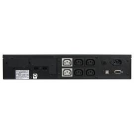 Источник бесперебойного питания Powercom King Pro RM KIN-1000AP 800Вт 1000ВА черный
