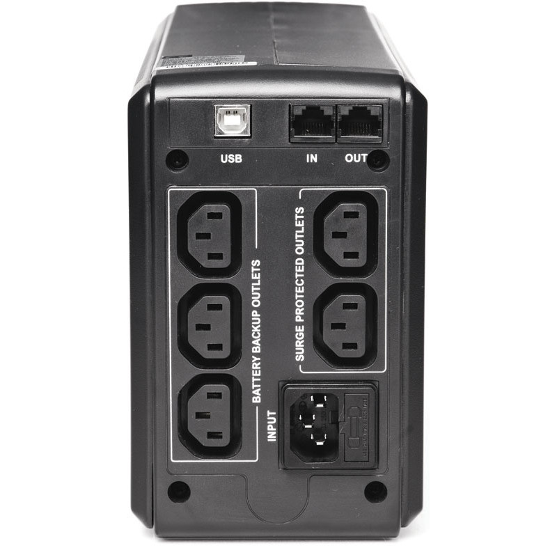 Источник бесперебойного питания Powercom SPT-500-II 400Вт 500ВА черный