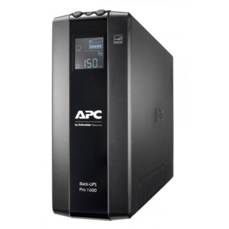 Источник бесперебойного питания APC Back-UPS Pro BR1600MI 960Вт 1600ВА черный