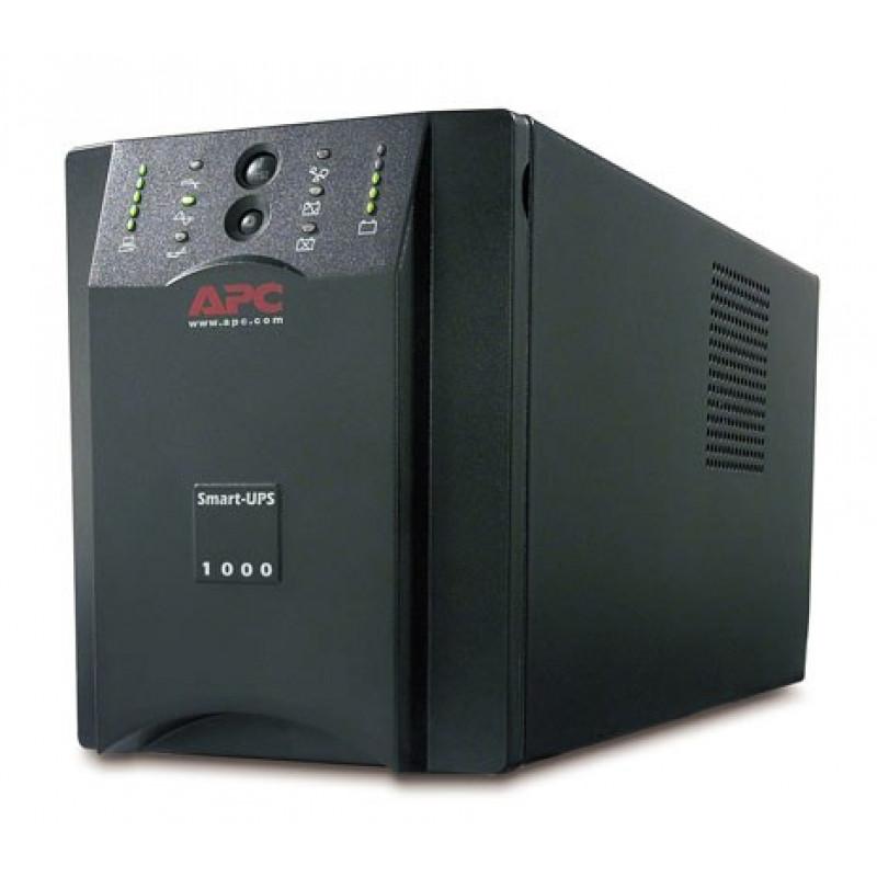Источник бесперебойного питания APC Smart-UPS XL SUA1000XLI 1000ВА черный