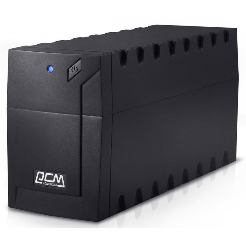Источник бесперебойного питания Powercom Raptor RPT-800A EURO 480Вт 800ВА черный