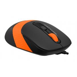 Клавиатура + мышь A4Tech Fstyler F1010 клав:черный/оранжевый мышь:черный/оранжевый USB Multimedia