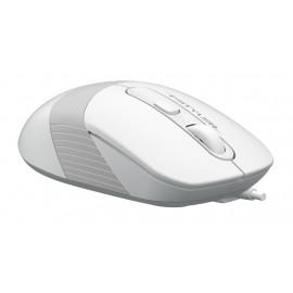 Клавиатура + мышь A4Tech Fstyler F1010 клав:белый/серый мышь:белый/серый USB Multimedia