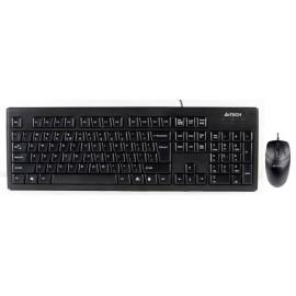 Клавиатура + мышь A4Tech KRS-8372 клав:черный мышь:черный USB