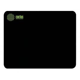 Коврик для мыши Cactus CS-MP-P01M Средний черный 300x250x2мм