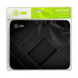 Коврик для мыши Cactus CS-MP-P02XS Микро черный 220x180x2мм