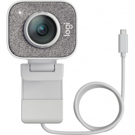 Камера Web Logitech StreamCam White белый 2Mpix (1920x1080) USB3.0 с микрофоном