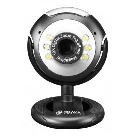 Камера Web Оклик OK-C8825 черный 0.3Mpix (640x480) USB2.0 с микрофоном
