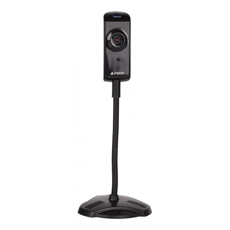 Камера Web A4Tech PK-810G черный 0.3Mpix (640x480) USB2.0 с микрофоном