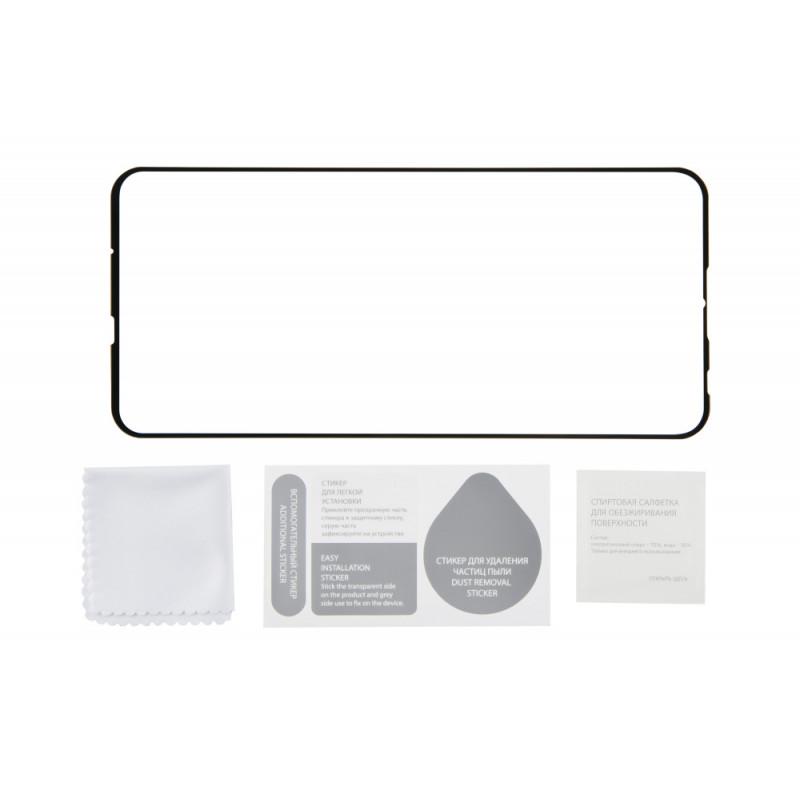Защитное стекло для экрана Redline черный для Huawei P Smart 2019 3D 1шт. (УТ000017134)