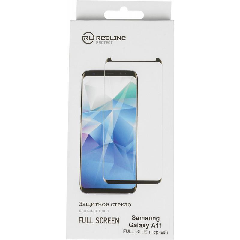 Защитное стекло для экрана Redline для Samsung Galaxy A11 прозрачная 1шт. (УТ000020414)