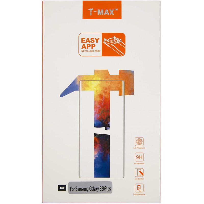 Защитное стекло для экрана Redline Т-Мах для Samsung Galaxy S20+ прозрачная 1шт. (УТ000023492)