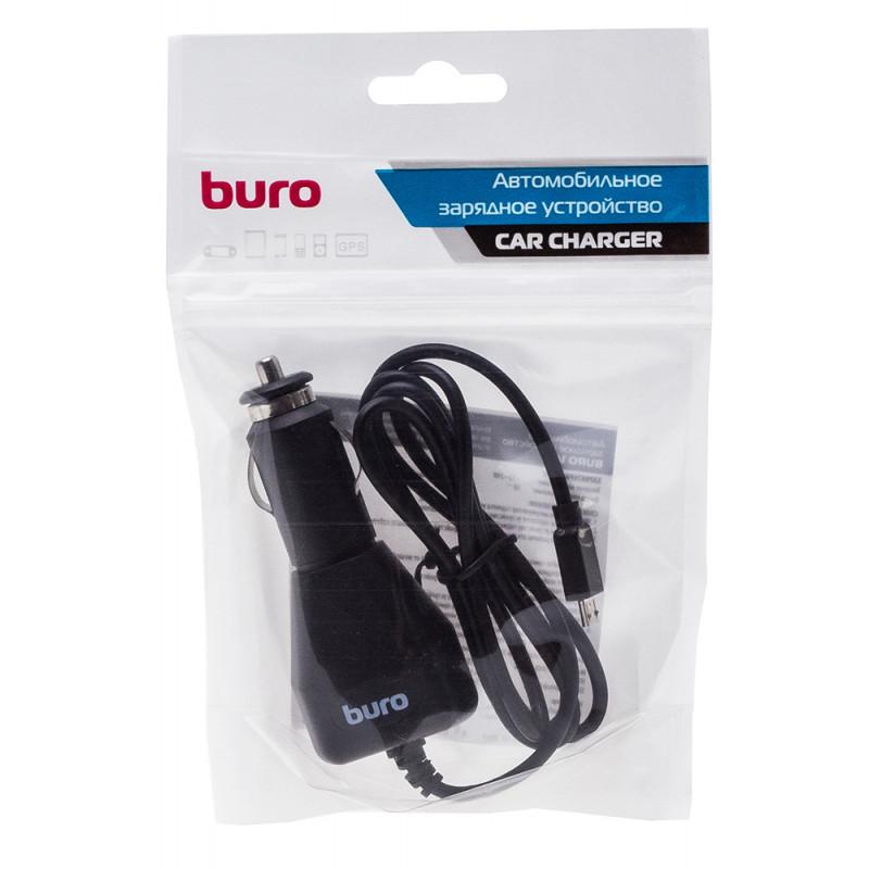 Автомобильное зар./устр. Buro XCJ-048-EM-1A 1A универсальное кабель microUSB черный