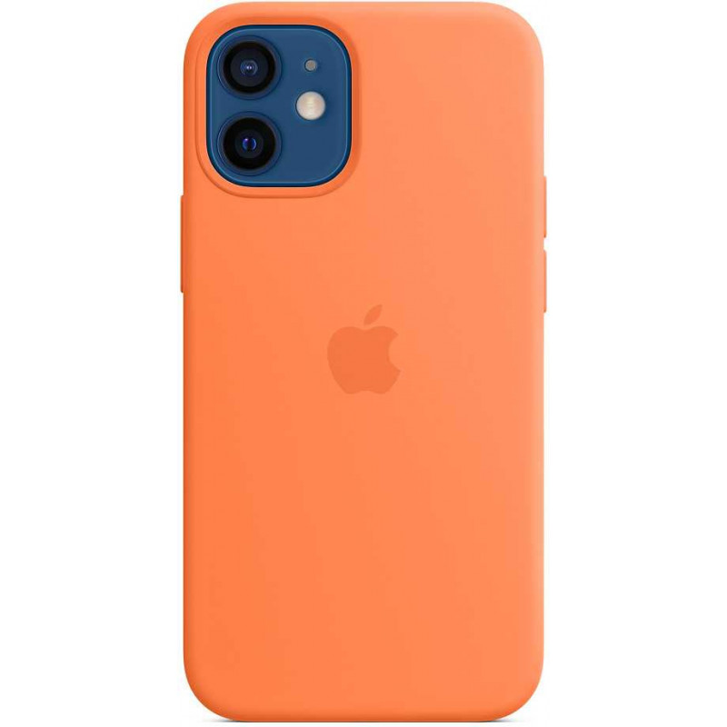 Чехол (клип-кейс) Apple для Apple iPhone 12 mini Silicone Case with MagSafe кумкват (MHKN3ZE/A)