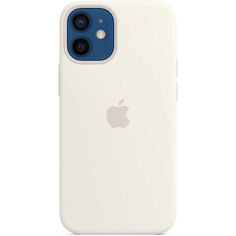 Чехол (клип-кейс) Apple для Apple iPhone 12 mini Silicone Case with MagSafe белый (MHKV3ZE/A)
