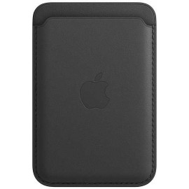 Чехол (футляр) Apple для Apple iPhone 12/12 Pro/12 mini/12 Pro Max Leather Wallet with MagSafe черный (MHLR3ZE/A)
