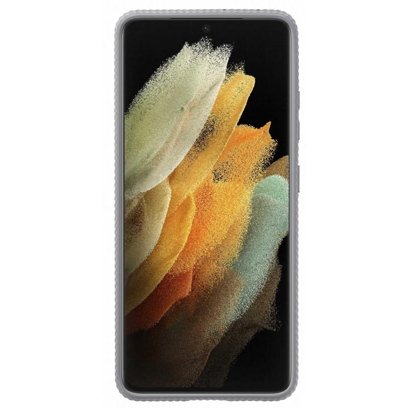 Чехол (клип-кейс) Samsung для Samsung Galaxy S21 Ultra Protective Standing Cover светло-серый (EF-RG998CJEGRU)