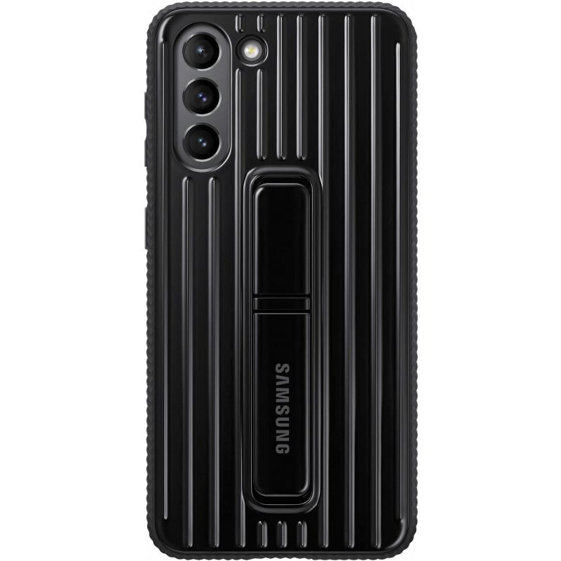 Чехол (клип-кейс) Samsung для Samsung Galaxy S21 Protective Standing Cover черный (EF-RG991CBEGRU)
