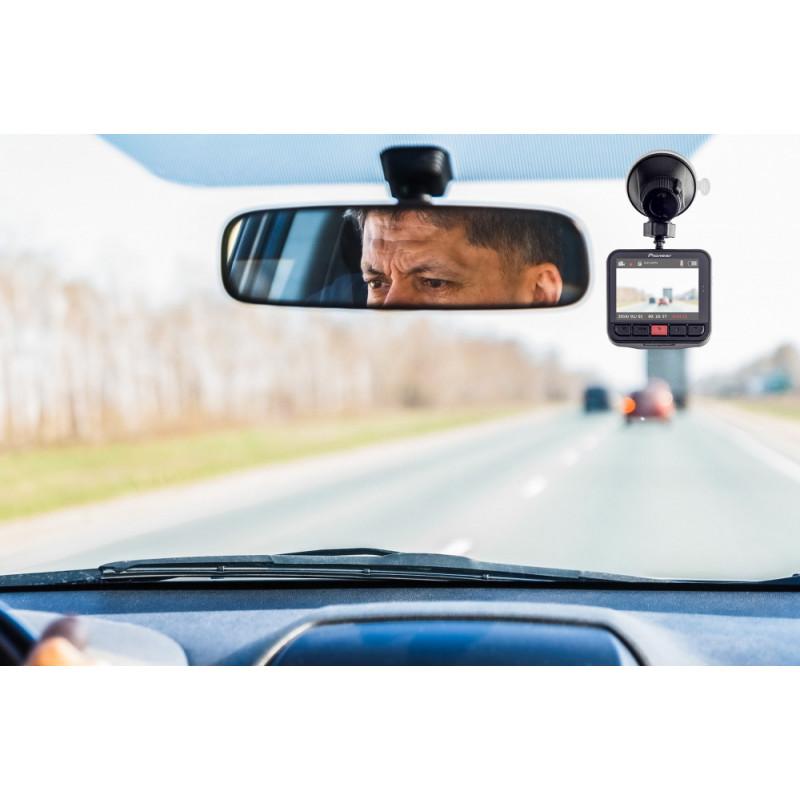 Видеорегистратор Pioneer VREC-100CH черный 1296x2304 1080p 125гр. GPS MSTAR MSC8328