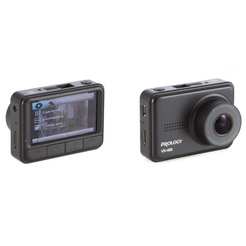Видеорегистратор Prology VX-400 черный 1080x1920 1080p 110гр. NT96658