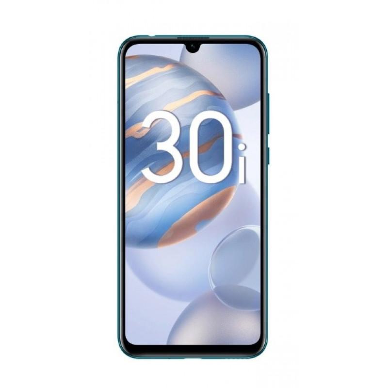 Смартфон Honor 30i 128Gb 4Gb синий фантом моноблок 3G 4G 6.4