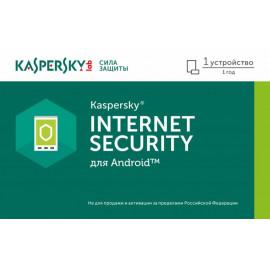 Программное Обеспечение Kaspersky Internet Security для Android Rus Ed 1устр 1Y Base Card (KL1091ROAFS)
