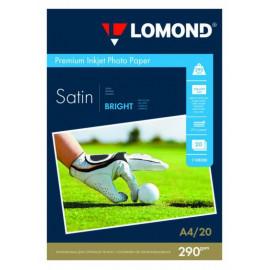 Бумага Lomond 1108200 A4/290г/м2/20л./белый сатин для струйной печати