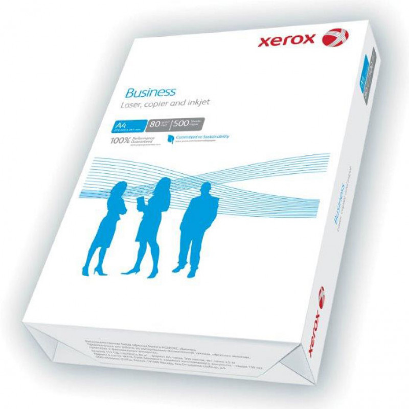 Бумага Xerox Business 003R91820 A4/80г/м2/500л./белый CIE164% общего назначения(офисная)