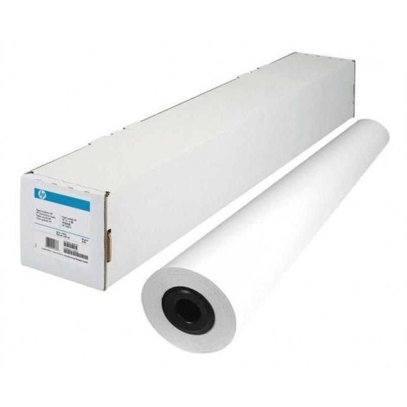 Бумага HP Q8005A 841мм-91.4м/80г/м2/белый матовое для струйной печати втулка:50.8мм (2