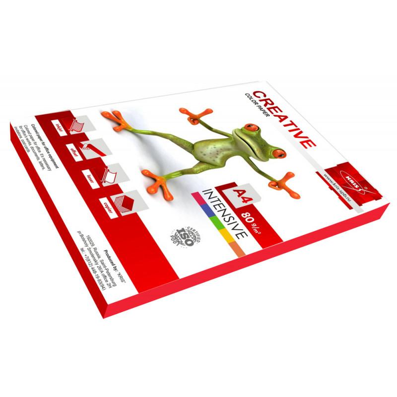 Бумага Creative БИPR-100Р A4/80г/м2/100л./розовый интенсив универсальная