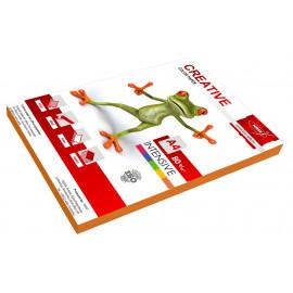 Бумага Creative БИPR-100ОР A4/80г/м2/100л./оранжевый интенсив универсальная