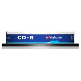 Диск CD-R Verbatim 700Mb 52x Cake Box (10шт) (43437)