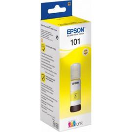 Картридж струйный Epson L101 C13T03V44A желтый (6000стр.) (70мл) для Epson L4150/L4160/L6160/L6170/L6190